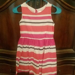 Girl's Gymboree Striped Dress - Size 8